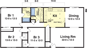 house plans for one story homes chic design floor plans for small single story homes 14 shining