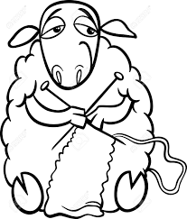 farm animal coloring book black and white cartoon illustration of funny sheep farm animal