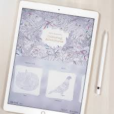 Turn Pictures Into Coloring Pages App Millie Marotta Tells Us About Drawing Her Colouring Book Ipad App
