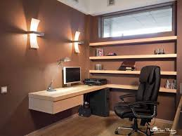 furniture cozy computer desk with minimalist shape combining the