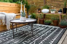 Modern Outdoor Rug 7 Ways To Use Outdoor Rugs In Modern Decor Macala Wright