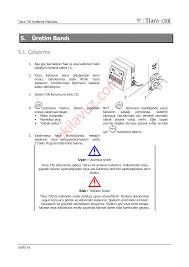 tiara cml tiara 730 kodlama makinası kullanım kılavuzu sayfa