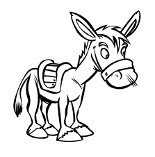 mexican coloring pages cowboy ride mexican donkey to sunset coloring pages cowboy ride
