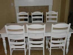 shabby chic dining table and chairs ebay home design ideas