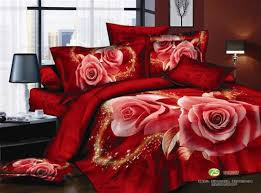 Flower Bed Sets Free Fast Shipping Fashion Ink Painting 100 Cotton Peony