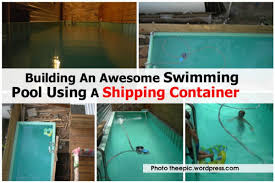shipping container swimming pool container house design