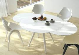 modern circular dining table expandable round dining table mid century modern round dining table