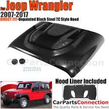 jeep hood vents tc style front metal hood vent scope dome sport 10th a 2007 2017