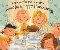 peanuts thanksgiving pictures photos images and pics for