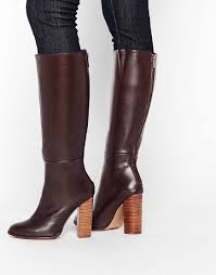 womens knee high boots canada 2016 shoes river island smart zip back knee high boots
