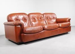 Leather Sofas Italian Italian Leather Sofa By Vavassori 1970s 66828