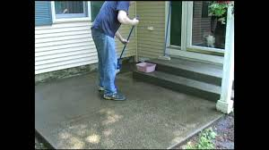 How To Clean Patio Slabs Without Pressure Washer How To Clean Your Concrete Deck Or Slab By Walt Barrett Youtube