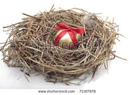 Easter Egg Nest Decorations by U0026quot Chicks In The Nest U0026quot Stock Images Royalty Free Images