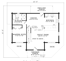 log home layouts house plan chp 21174 at coolhouseplans com