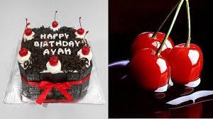 blackforest cake topper cherry delicious youtube