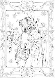 287 faries angels coloring images coloring