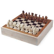 Unique Chess Set Aquatic Life Tagua Chess Set Unique Game Board Playing Pieces