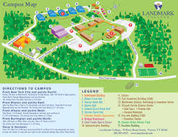 Morgan State University Map by Directions To Campus About Landmark College