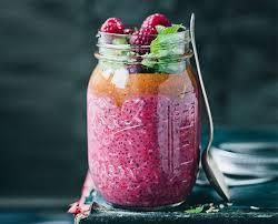 Green Kitchen Storeis - green kitchen stories u0027 berry chia pudding with hazelnuts mint