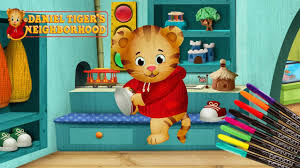 daniel tiger coloring page for kids youtube
