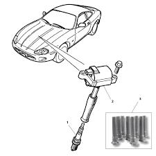 jaguar spark plug s type v 8 all etc c2a 1535