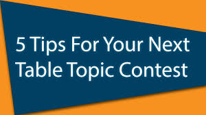 toastmasters table topics contest questions toastmasters 5 tips for your next table topic contest youtube
