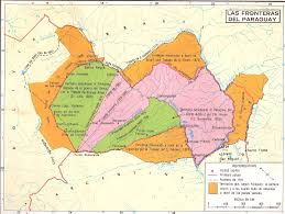 Map Of Uruguay Historia De La Frontera Paraguaya Jpg