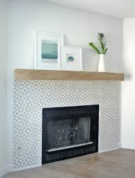 tiled fireplace surround decoration ideas collection top to tiled