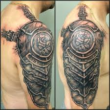armour tattoo cover up tattoo black and grey armor tattoo