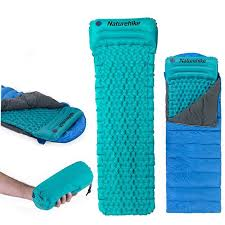 naturehike inflatable sleeping air cushion camping moistureproof