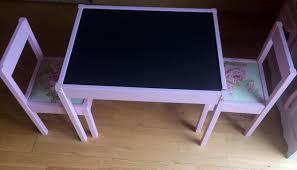 Ikea Kids Table And Chair Set Diy Ikea Latt Children U0027s Table U0026 Chairs A Littlelondoner