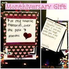 monthiversary gift gift anniversaries and anniversary gifts