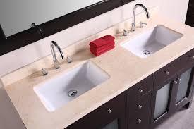 furniture home rectangular undermount bathroom sink biscuit