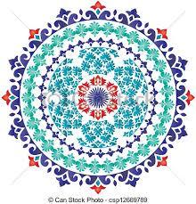oriental design oriental pattern and ornaments turkish design vector search clip