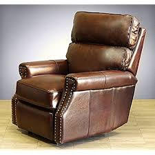 leather power recliner amazon com