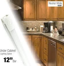 kitchen cabinet lighting brackets cyron 12 inch led 270 lumen lighting kit cabinet