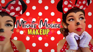 Minnie Mouse Halloween Makeup by Disney Halloween Makeup Minnie Mouse Healthbeautystyle Tv Youtube