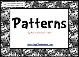 pattern games kindergarten smartboard extending growing patterns smart notebook lesson smartboard file