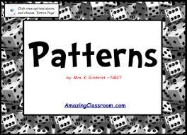 pattern games for third grade math algebraic reasoning patterns growing patterns common