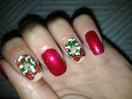 how to make nail decals for christmas easy christmas nail art