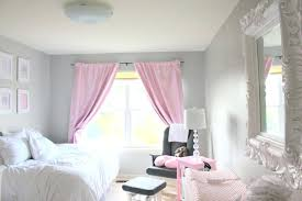 Light Pink Curtains For Nursery Pink Grey Nursery Project Nursery Pertaining To Light Pink