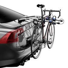 mercedes bicycle thule 9009xt archway trunk mount bike rack for 2 bikes