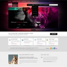 infusion wordpress template wp personal creative wordpress