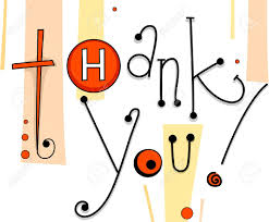 Thank You Card Designs Illustration Of A Thank You Card With Button Designs Stock Photo
