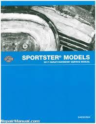2017 harley davidson sportster motorcycle service manual