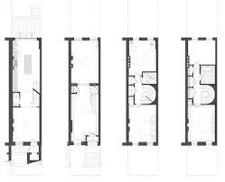 Brooklyn Brownstone Floor Plans by Clinton Hill Brownstone Brooklyn Dennis George Architect