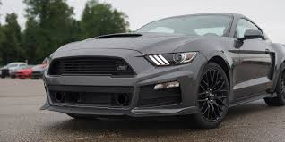 2007 Black Mustang 2017 Roush Ford Rs Mustang Akron Oh