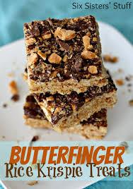 Halloween Crispy Cakes Butterfinger Rice Kripsie Treats U2013 Six Sisters U0027 Stuff