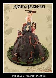 army of darkness birthday cake daily dead