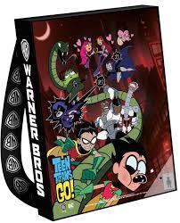 sdcc 2017 teen titans bag acknowledges original series